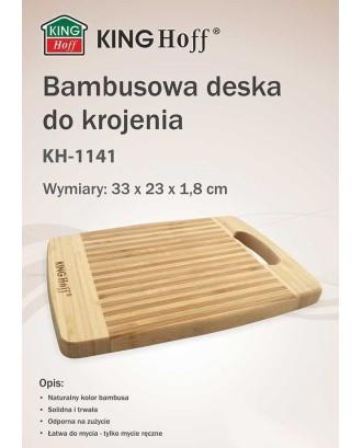 Virtuvinė lenta Bambukas 33x20cm KINGHOFF KH-1141